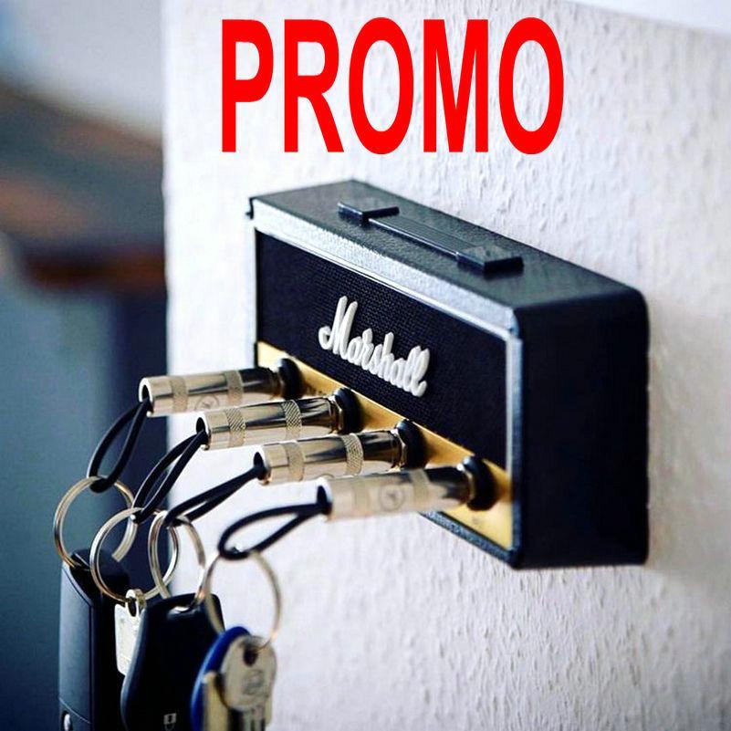 Almacenamiento de claves Llavero Guitarra Marshall Holder Jack II rack 2,0 llave eléctrica en rack Amp Amplificador JCM800 regalo estándar de la vendimia