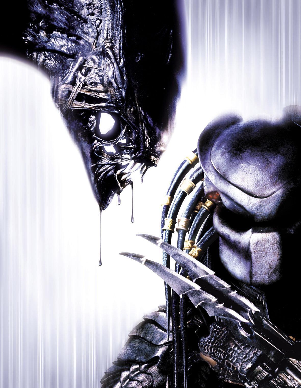 Alien Vs Predator Art Silk Print Poster