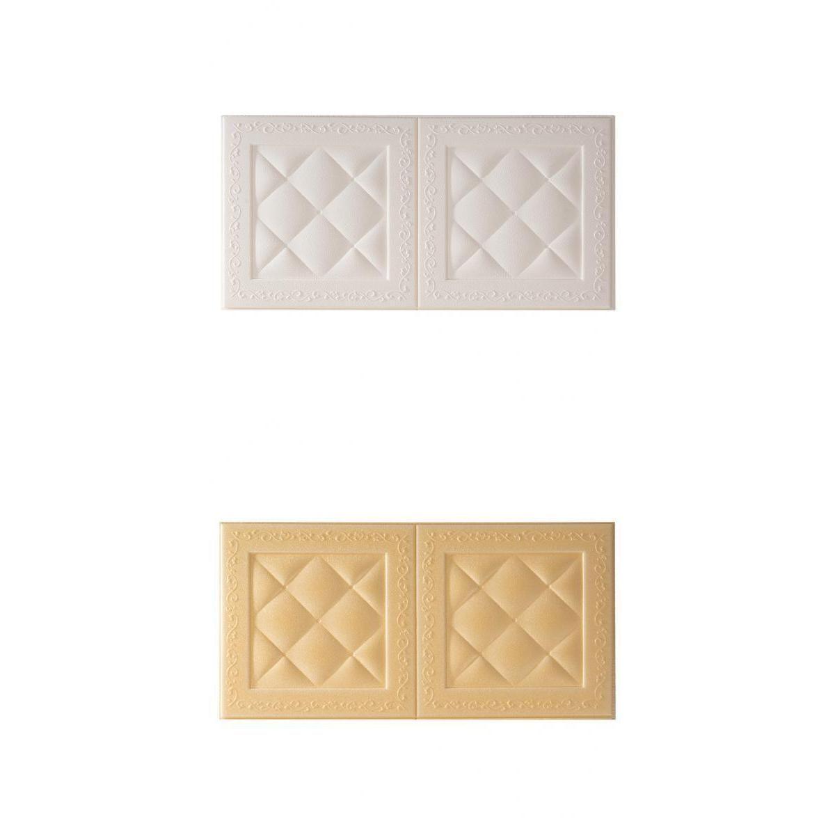 Wall Sticker 2x 3D Tile Sticker Bedrom Cucina Home Kitchen Decoration
