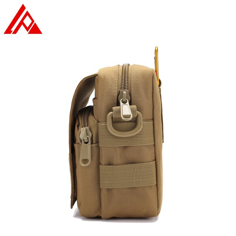 Outdoor Camouflage Kleingeldbörse Handy-Beutel-im Freien Multifunktions-Mappen der Männer Sports Bag Umhängetasche