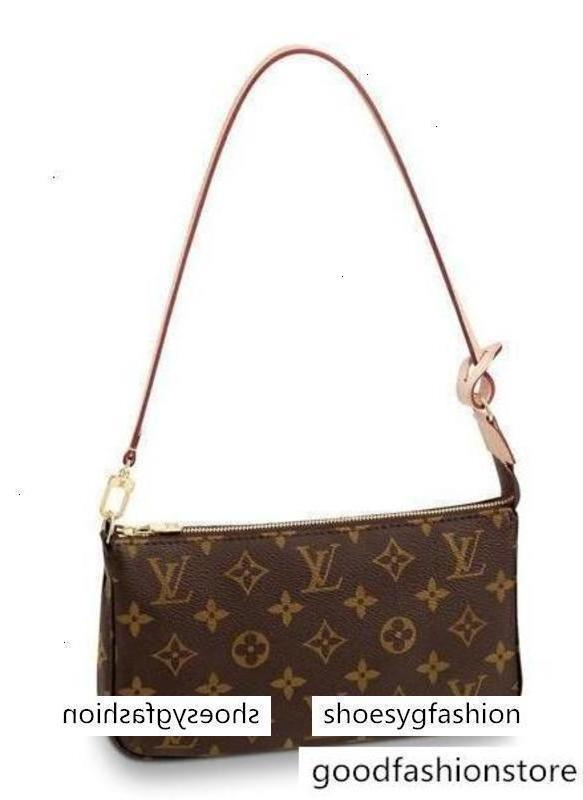 New M40712 Pochette Accessoires Women Fashion Shows Shoulder Totes Handbags Top Handles Cross Body Messenger Bags