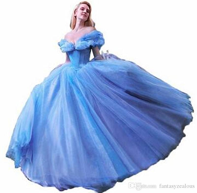 Cinderella 2019 Off The Shoulder Quinceanera Dresses Fantasy Sequines Puffy Tulle Ball Gown for Girls Sweet 16