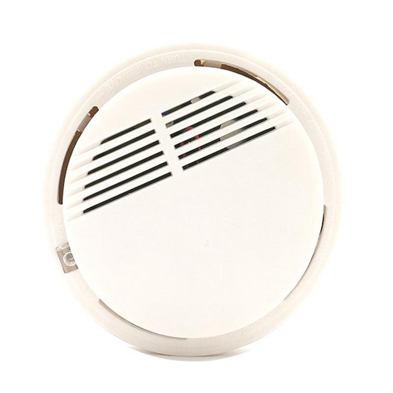 Smoke detector fire alarm detector Independent smoke alarm sensor for home office Security photoelectric smoke alarm 9V battery operated