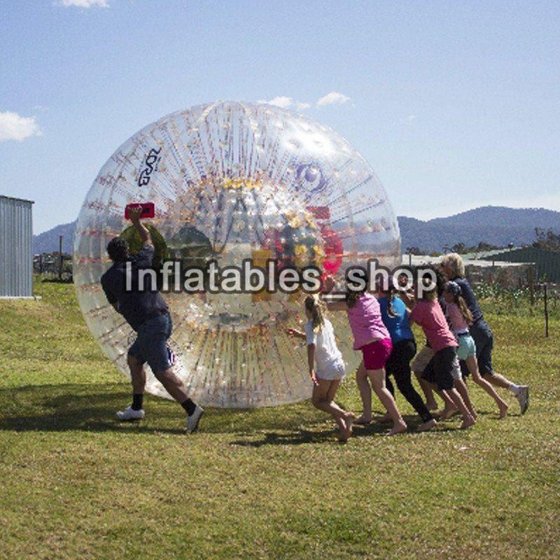 Fabrika özelleştirmek! Ücretsiz kargo ! Dia 3M Zorbing Topu Ekipmanları Satılık Büyük Aqua Zorbing Topu Su Zorb Topu
