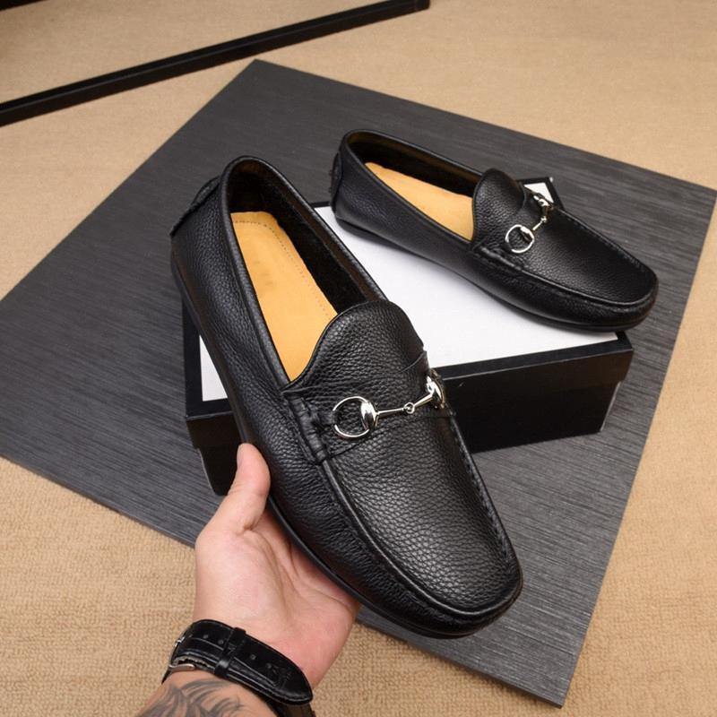 Los nuevos zapatos del ocio del negocio superior de diseño de moda tendencia concepto de bajo perfil de lujo con connotación, antideslizante único color: negro tamaño: 38-44f649 #