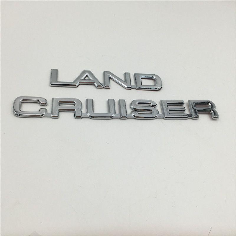 Pour Toyota Land Cruiser Prado arrière du coffre Boot Emblem Badge Hatchback Logo Ornement
