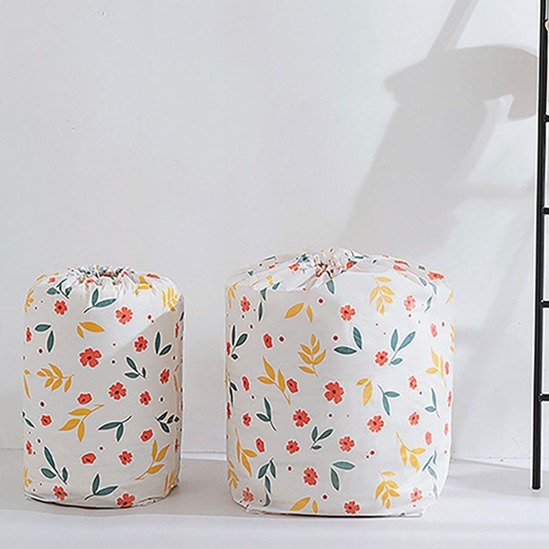 Sacs de rangement portatives Vêtements Oreillers Quilt Pouch Drawstring Blanket Literie Organisateur Closet Organizer Pouch Accueil Sac magasin