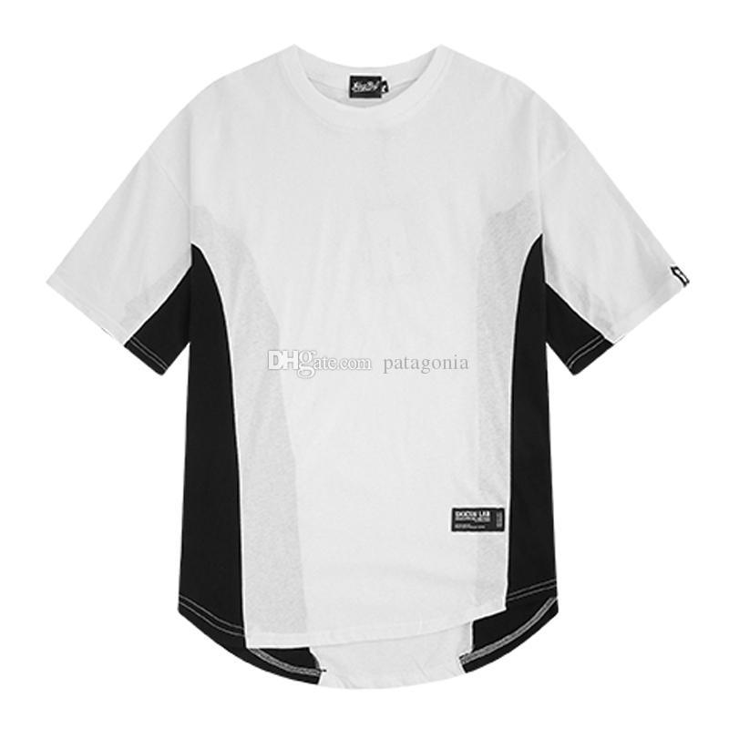 Лето новых людей футболки высокого качества Мужские футболки Повседневная Комфортное Мужчины Женщины Короткие рукава Размер M-2XL