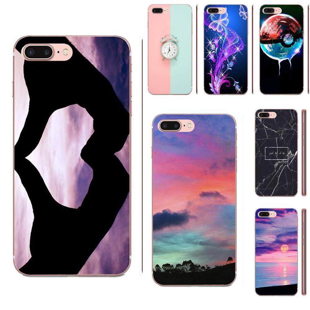 Tarjetero Iphone Tumblr Arte Libera Trasparente Apple IPhone 4 4S 5 5C 5S SE 6 6S 7 8 11 Plus Pro Cellulare X XS Max XR Caso Molle Della Copertura Da ...