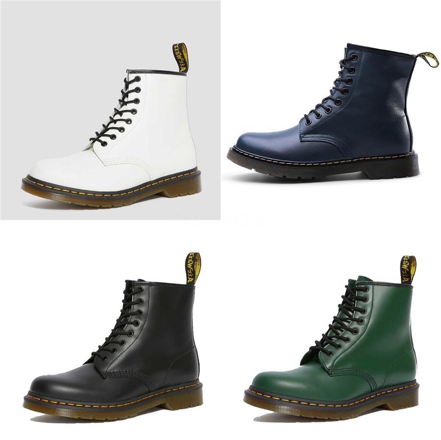 Martin Bottes, Chaussures Femmes, Style britannique Stúdents Version Coréenne Bataille en cuir court Tube, rétro talon épais, 2020 New Boots, # 894