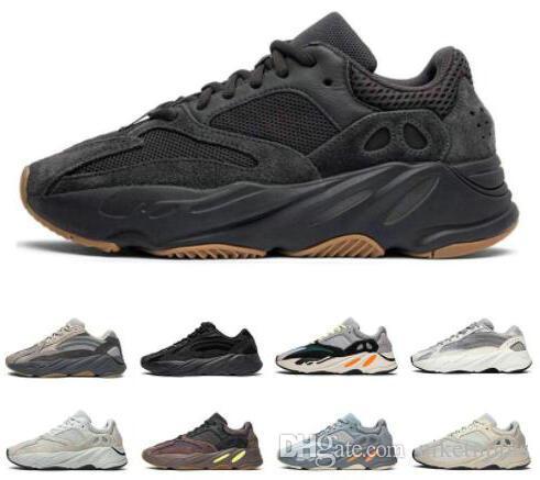 Kanye west 700 onda runner running shoes para homens das mulheres 700 s v2 utility preto vanta tephra analógico geode inércia designer sapatos tamanho 5-12