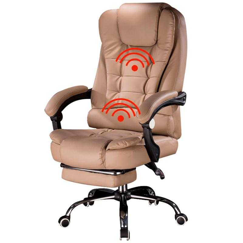 sillón de masaje silla para juegos de ordenador personal de la oferta especial con elevación y giro función principal de Office Chair