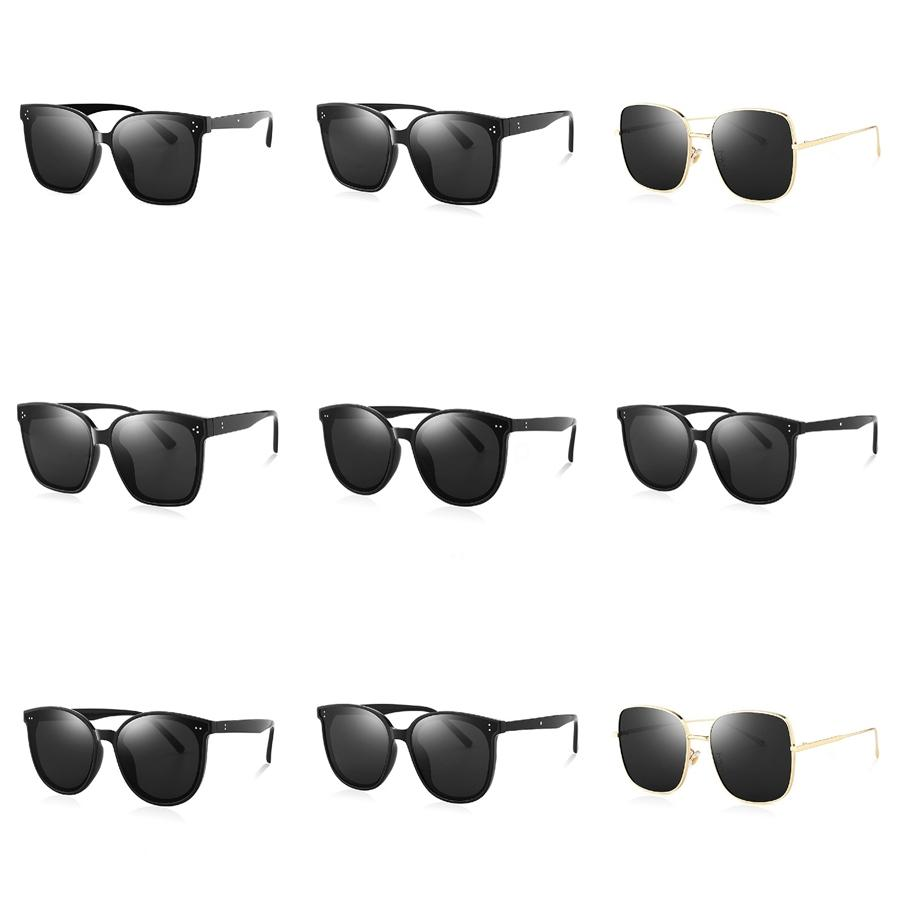 New Fashion Men Sports Casual Polarized Sunglasses Outdoor Bicycle Goggles Sun Glasses Black Yellow Frame Gray Resin Lenses 8 Color Eyewe#623