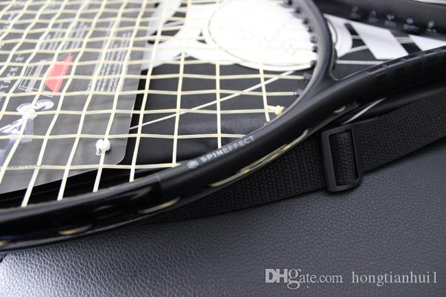 Wholesale top quality tennis rackets Blade 98 Black racquet with string and bag 1 piece free shipping