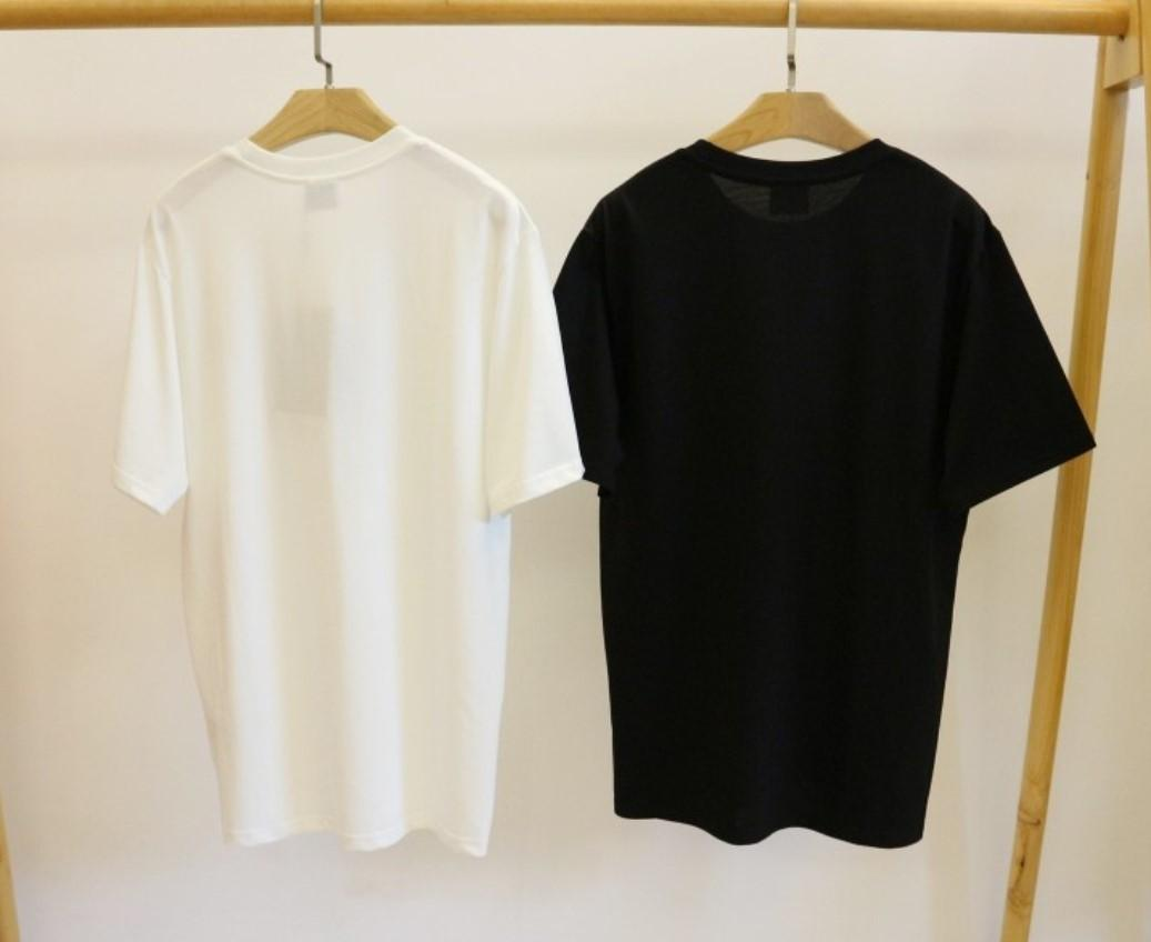 Nuovo arrivo caldo camicia delle donne degli uomini del progettista di marca maglietta moda casual primavera-estate Tees alta qualità maglietta Moda Streetwear 2040105Q
