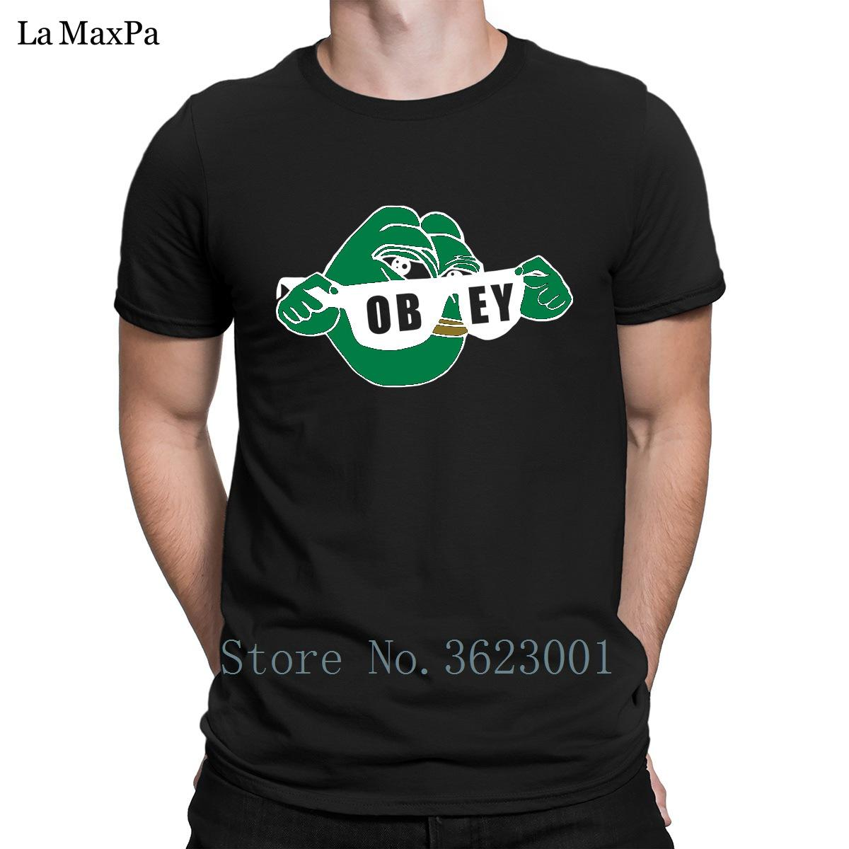 Забавный уникальный Мужская майка ом Пепе солнцезащитные очки лягушка повиноваться футболка лучше футболка человек s-размер 3XL тройник рубашка милый