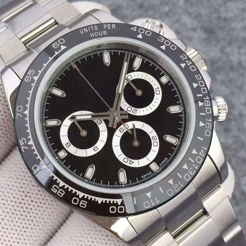 Cerámica Negro Top Hombres Mecánicos Menores Nuevo 2813 Movimiento automático Reloj de hombre Moda deportiva Relojes de auto-viento Relojes de pulsera Keyaa U1 Fábrica