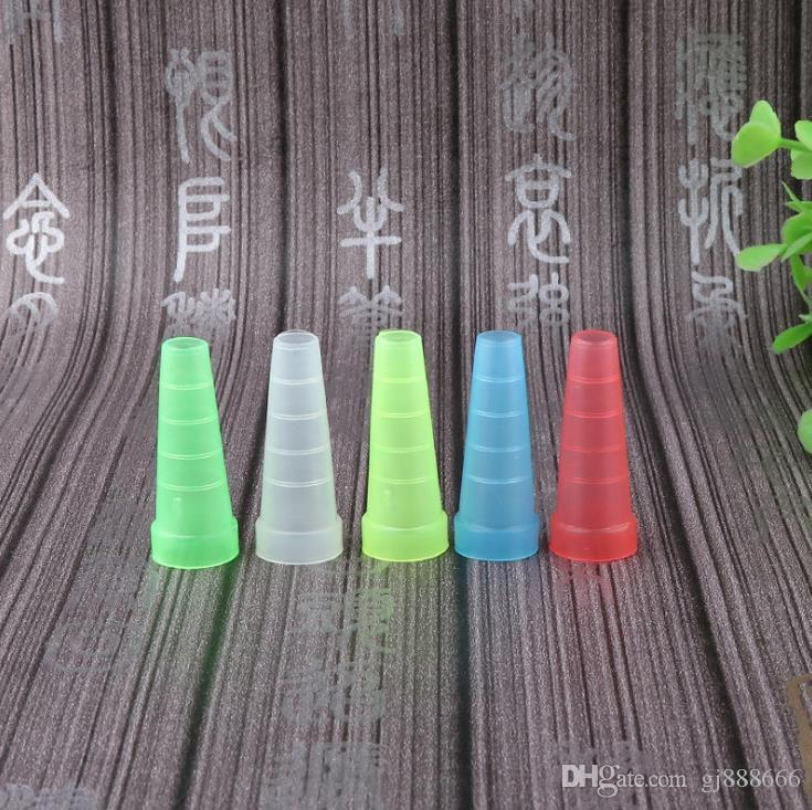 Mini-candy color water pipe fittings disposable environmental bite cigarette kettle bite