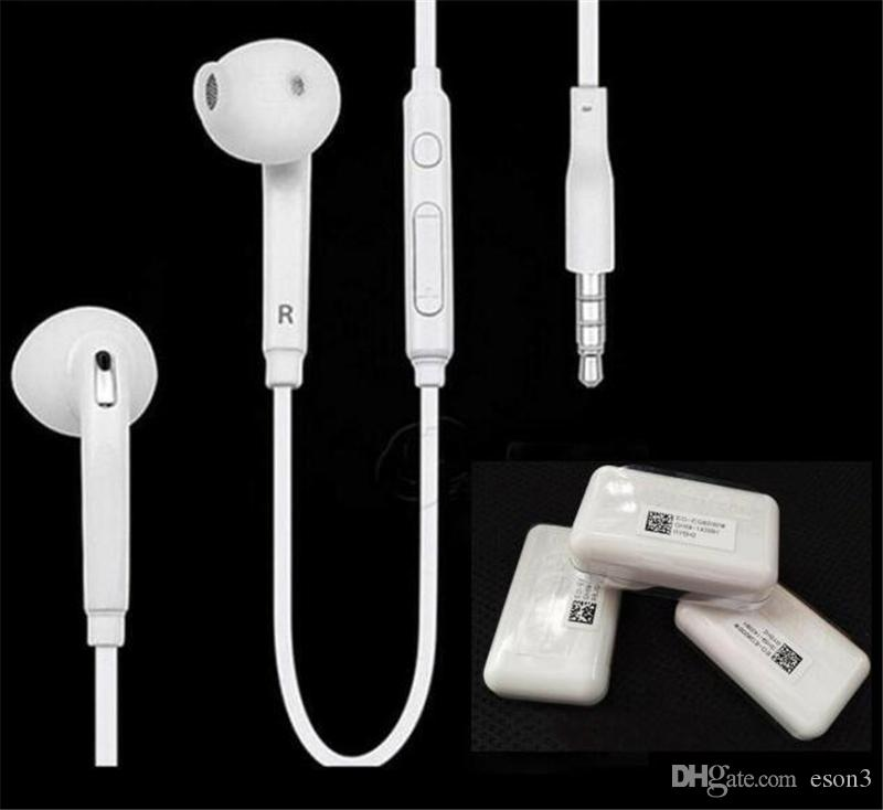 Top Quality 6U Speaker Copper Ring 3.5mm Earbuds In-Ear Headphones With Mic Earphone Earbud For Samsung s5 s6 Huawei MQ50