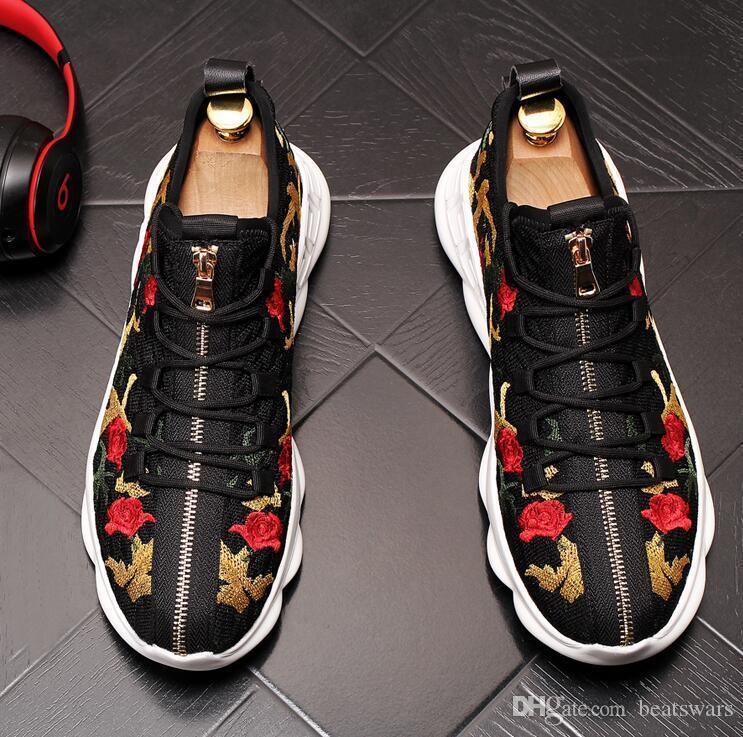New Designer Shoes Luxo Low Top alta qualidade plataforma de Homens e Mulheres papai Esportes Formadores Shoes