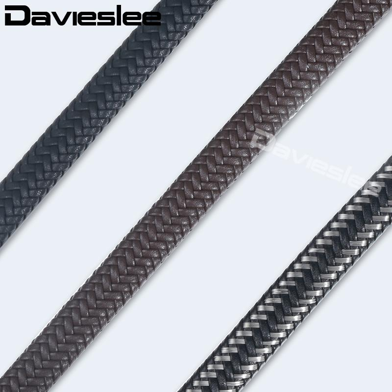 Trendsmax 12mm Microfiber Leather Rope String Chains For Bracelet Necklace DIY Jewelry Making Accessories Customized KALF01