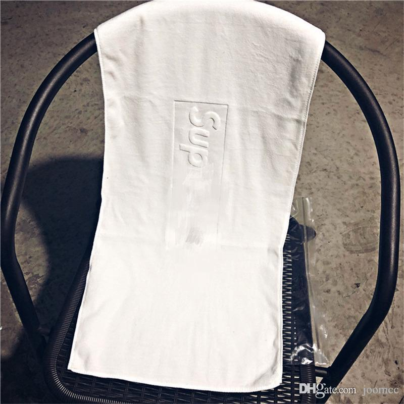 Rectangle Sport Towels Fashion Men And Women New Towels Soft Cotton Towels Daily Life Facecloth S Letter Embossed Design Towel