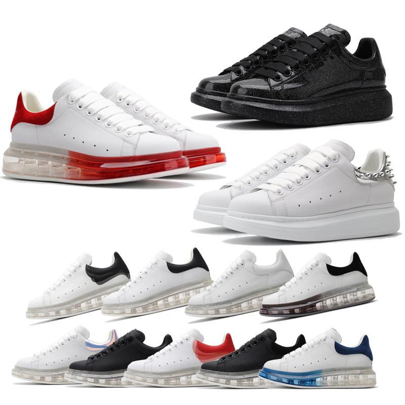 plataforma conAlexander zapatillas de deporte de la cajaMcQueencestas mc hombres zapatilla scarpe Ginnastica mujeres zapatillas deporte casual # # 0202ee