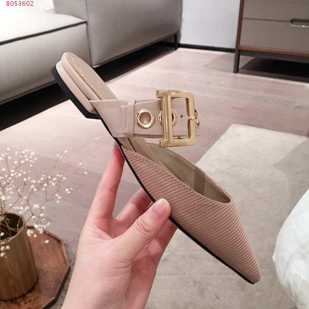 2020 ultimo disegno per pantofole signore rivetti di lusso, colore rosa nero Borgogna e signora nuda scavato-out involucro testa
