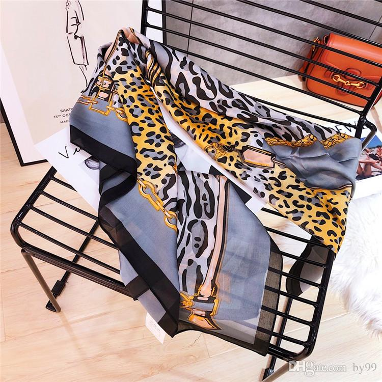 Best22 printemps et d'automne nouveaux foulards de soie chaude pour moyenne européenne des femmes et américains et à long sunblock foulards de soie de style imitation soie