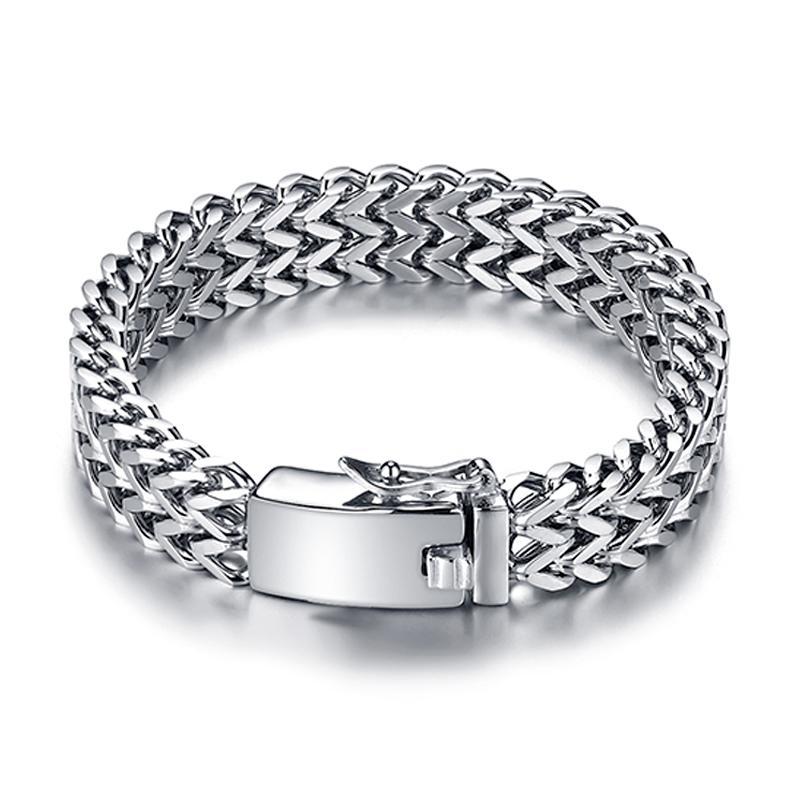 personalizado moda clássica de aço inoxidável pulseira cadeia masculina Buddha pulseira de 12 mm de largura presente de Buddha pulseira festa de jóias 014
