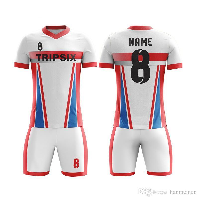 Пользовательские красочные футбол тренировочный костюм бланк футболка футбольная форма для команды форма дизайнер персонализированные футбольные майки