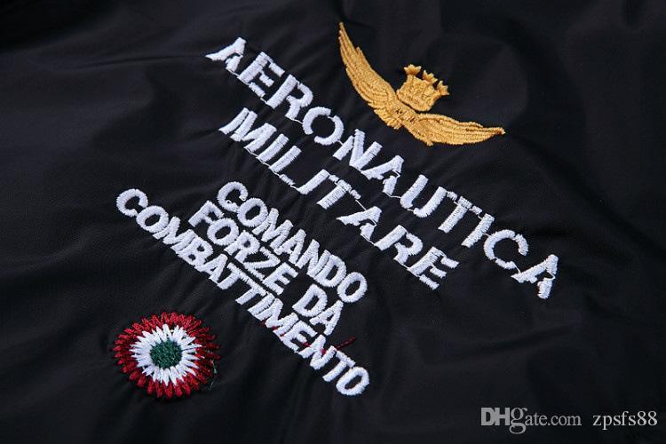 Großhandel Aeronautica Military Jacken Herren Jacken Allgleiches Marke Sommer Frühling Jacke Stickerei Mantel Lässig Jaqueta Masculina Von Zpsfs88,