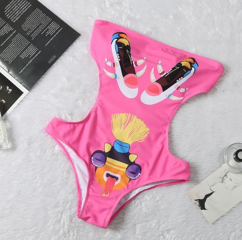8840 # Luxury Swimwear Mulheres Sexy BrandBikini DesignerSwimsuit Ladies Summer Beach Hot Uma peça Swimwsuit BrandSwimwear QS2 2020564K