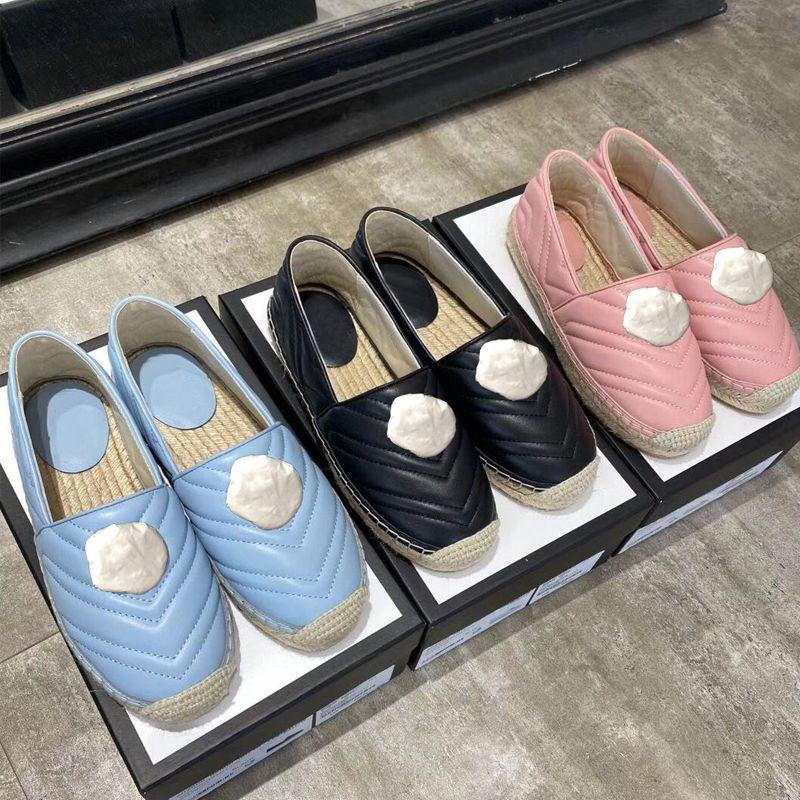 Diseñador de zapatos de plataforma clásica de lujo mujer mujeres planas de los zapatos casuales hebilla de metal 100% cuero de las señoras zapatos del barco Lazy tamaño 35-41 US4-US10