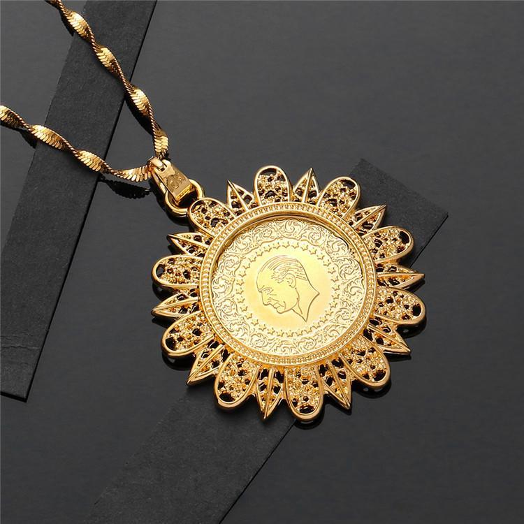 Кристалл Подвеска и Ожерелья для Женщин Ближний Восток Ислам Мусульмане Новые Ювелирные Изделия Арабские Подарки Ближнего Востока Ювелирные Изделия Нет Выцветших