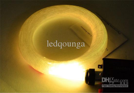 Optikai Szai Led Fibra Optica 1mm 45w 5m Rgb Engine Lights Diy Ceiling Kits Optic Fiber Lampada 110v 220v Remote Controller Engines Ce