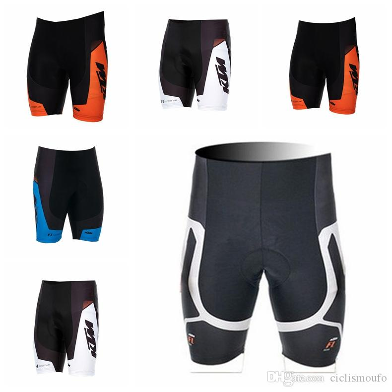 Explosion trend hot sale KTM team Summer mens Breathable and Quick dry Bike Clothing Bicycle quick dry Shorts H71004