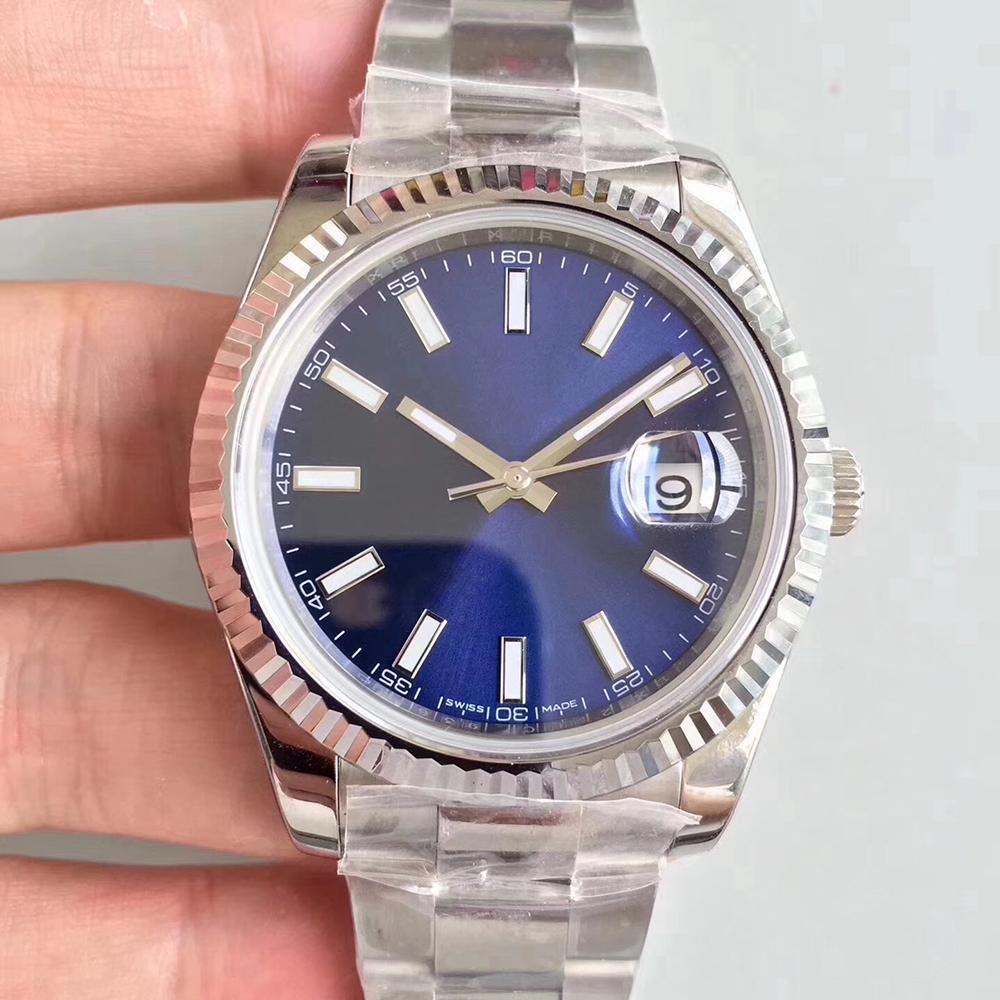고급 남성 시계 41mm DATEJUST 기계 자동 디자이너 시계 스테인레스 스틸 비즈니스 패션 마스터 대통령 남자 손목 시계