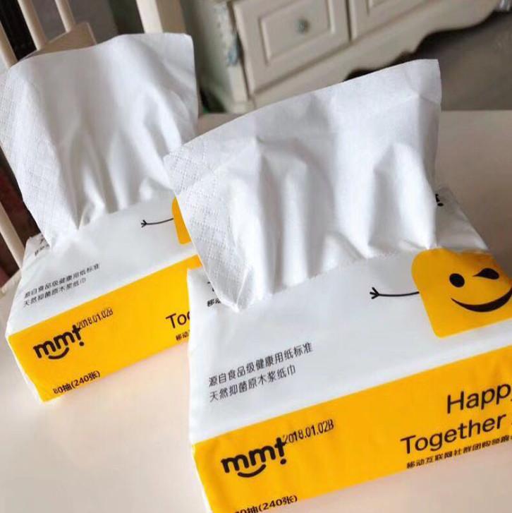 최근 중국 버전을 포장하는 기본 목재 펄프 soft-뽑아 종이 타월 얼굴 조직 냅킨은 제조업체 무료배송