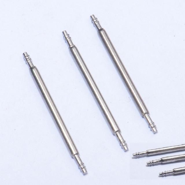 Tout en acier double support diamètre de l'oreille 1,5 broches d'oreille accessoires premières Montre arbre de connexion courroie broches oreille