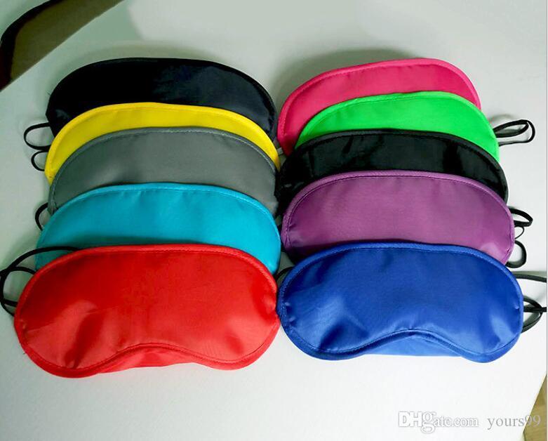 아이 마스크 그늘 낮잠 커버 눈가리개 여행 전문 스킨 헬스 케어 트리트먼트 수면 혼합 DHL의 자유로운 다양한 색상 옵션 마스크