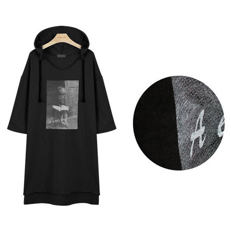 Fashion-FLULU Lässige Herbst Winter Frauen Sweatshirt 2018 Print Floral Warme Lose Hoodies Sweatshirt Langarm BF Top bts Plus Größe 5XL
