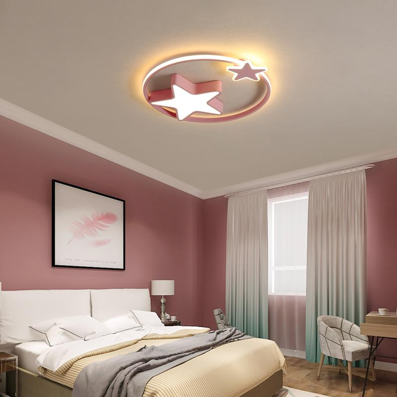 Moderne LED-Kronleuchter mit Fernbedienung Acryl Lichter für Wohnzimmer Schlafzimmer Haus Kronleuchter Deckenleuchten Freies Verschiffen