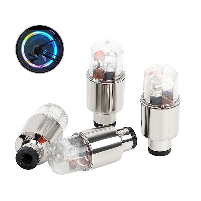 Nouvelle Aura de Charme Cap Lampe LED étanche voiture automatique lumière de roue Potence Ampoule Décoration Facile à installer
