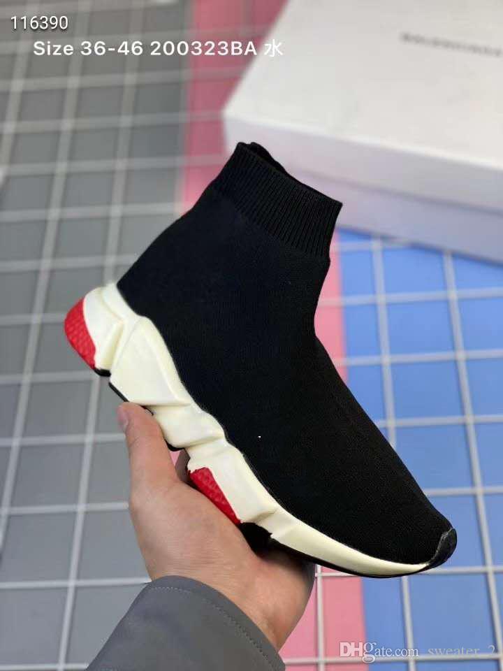 Les nouvelles chaussures de sport chaussures running enfants de mode enfants / bébés bottes tout-petit garçon et filles chaussures chaussettes sport laine tricotées 24-35