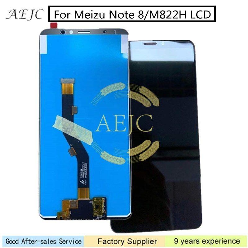 Ücretsiz Araçlar ile Meizu Not 8 M822H LCD Ekran Dokunmatik Ekran Digitizer Meclisi Yedek Parçaları Onarımı 5.5 değiştirin ''