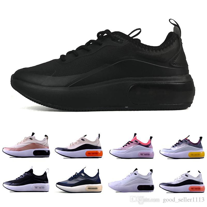 Compre Nike Air Max Dia Airmax Dia Shoes Dia Se Laser Fuchsia Hombres  Zapatillas De Deporte Diseñador Negro Blanco Rosa Rojo Gris Dias Se Racer  ...