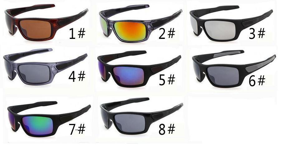 Verão mais novo homem vento óculos de sol de vidro da bicicleta esportes óculos de sol óculos de cor deslumbrante condução óculos um ++ 8 cores frete grátis