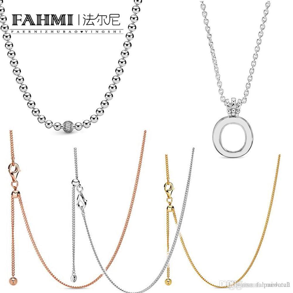 Wholesale Pandora 100% 925 Sterling Silver Shine Curb Chain ...