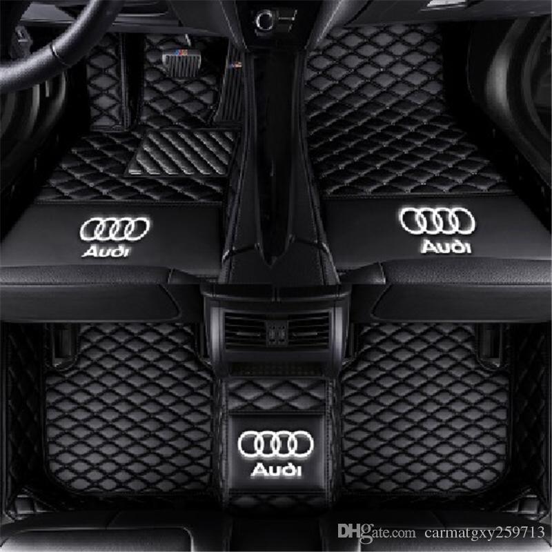 Applicabile alla berlina Audi A3 a due porte 2008-2013 Tappetino antiscivolo a pavimento per moquette Tappetino antiscivolo per tappetino antiscivolo